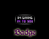 -X-Giving In Badge