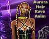 Aurora Hair Rave Femme