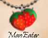 ! strawberry necklace