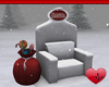 Mm Santa Snow Chair
