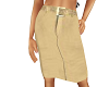 TF* Cream Straight Skirt