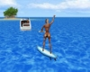 WATER SKI BOAT ANIMATED