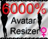 *M* Avatar Scaler 6000%