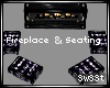*SC* Fireplace W/Seats