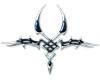 blue Tribal metal