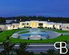 White Romantic Mansion