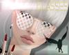 POP GLASSES . polka dots