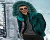 A/L Winter Jacket Teal