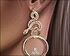  < Fall! Snake Earrings!