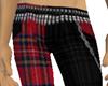 RedBlack Pants Big Booty