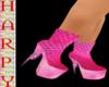 PINK DIVA high heels
