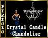 Crystal Candle Chandelie