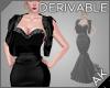 ~AK~ Pearl Fishtail Gown