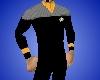TNG Crew Jacket Gold