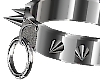 Steel Spike Ring Collar