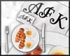 AFK food v1 Headsign