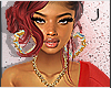 J | Chantico red