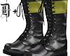 D+. Combat Boots YEL