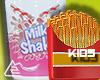Milk shake & fries