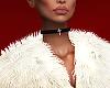 ( a lil fur vest )