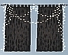 Black Chill Out Curtains