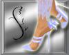 Light Blue Lace Heels