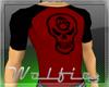 Anarchy Skull Raglan RED