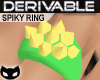[SIN] Der. Spiky Ring