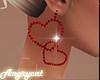 Red Earrings Animate