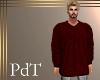 PdT Raisin Knit Sweater