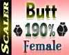 Butt / Hip Resizer 190%