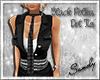 Black Polka Dot Tie [F]