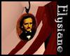 {E} Poe Steampunk Earngs