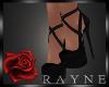 Quey heels black