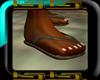 Leather Flip Flops [M]