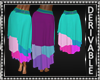 Casual Skirt Mesh