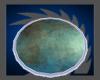Blue Tree Round Rug v1