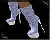 Lace AnkleBoot violet
