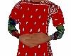 red bandana shirt