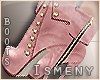 [Is] Casual Pink Boots