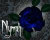 Hair Glitter Rose (Blue)