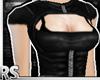 ; Leather-Jacket Black