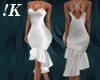!K! Ruffle Bottom Dress