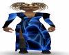 Ebon~Blue Mushroom Dress