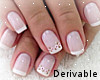 Decorated Pink Nails