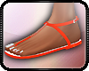 ✪| Latexed Sandals (O)