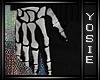 ~Y~Skeleton Gloves |M