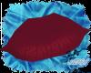 Deep Red Luscious Lips