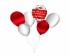 1st Anniversary Balloons