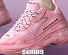 Balence Triple S Pink